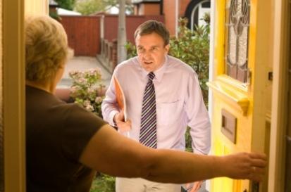 Door - to - door - salesman